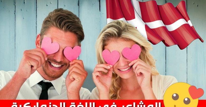 المشاعر في اللغة الدنماركية