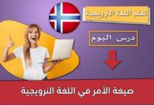صيغة الأمر في اللغة النرويجية